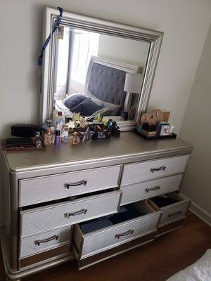 Bed frame & dresser for Sale in Alexandria, VA