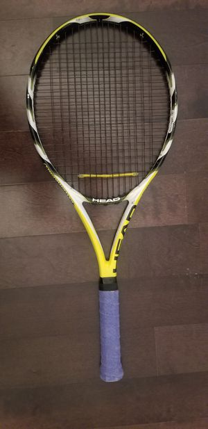 "HEAD Extreme Pro Mid Plus L3 Swing Microgel Tennis Racket 4 3/8"" Grip USED for Sale in San Diego, CA"