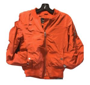 Women's Glamsia Red Bomber Jacket Size Small for Sale in West Covina, CA