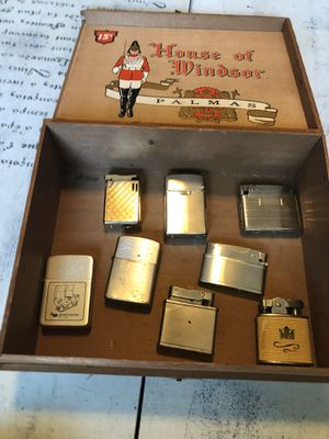 8 Vintage Advertising Lighters. Some working. for Sale in Tampa, FL