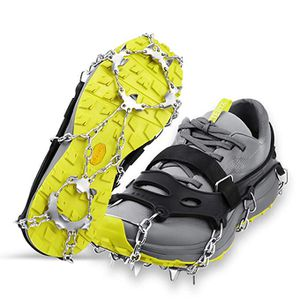 LOPOO Crampons Traction Cleats Ice Snow Grips with 19 Spikes System Safe Protect for Walking, Ice Fishing, Climbing and Hiking on Snow and Ice for Sale in The Bronx, NY