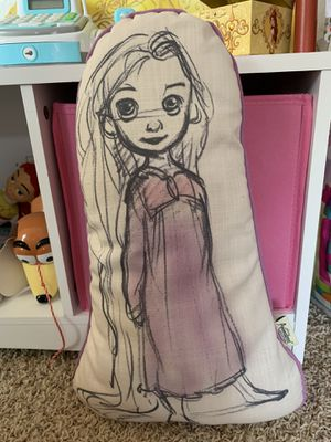 Disney Rapunzel Animation Collection Pillow for Sale in Murrieta, CA