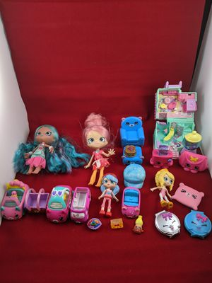Shopkins toy bundle for Sale in Tacoma, WA
