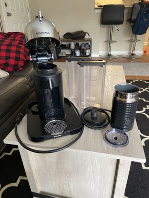 Nespresso Vertuo + Milk Frother for Sale in Bellevue, TN