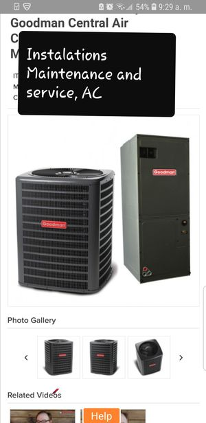 Ac services cooling and heat for Sale in Jacksonville, FL