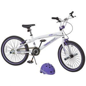Outdoor Spirit Girls' Freestyle Bike w Helmet for Sale in Nashville, TN