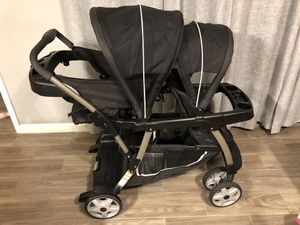 Graco Ready 2 Grow lx double Stroller for Sale in Avondale, AZ