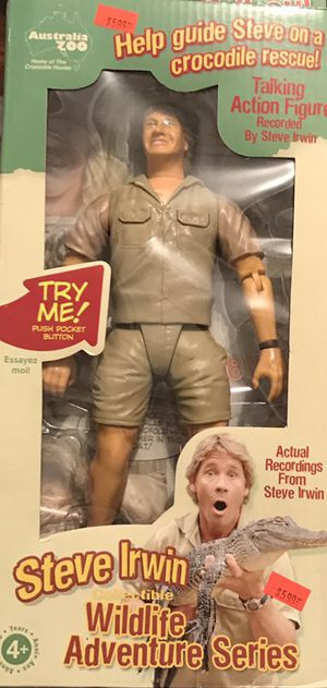 Steve Irwin action figure for Sale in New York, NY