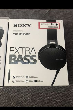 Sony MDR-XB550AP for Sale in Chula Vista, CA