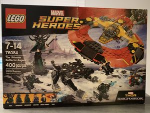 Lego Marvel Super Heroes The Ultimate Battle for Asgard for Sale in Auburn, WA