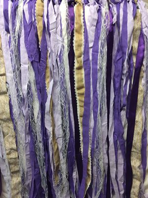 Purple Ribbon backdrop for Sale in Fairfax, VA