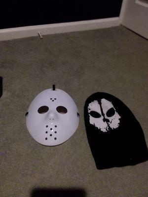 Two Halloween Masks for Sale in Ypsilanti, MI