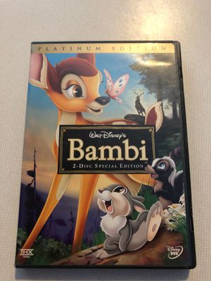 Bambi platinum edition two disc special edition for Sale in Princeton, IL