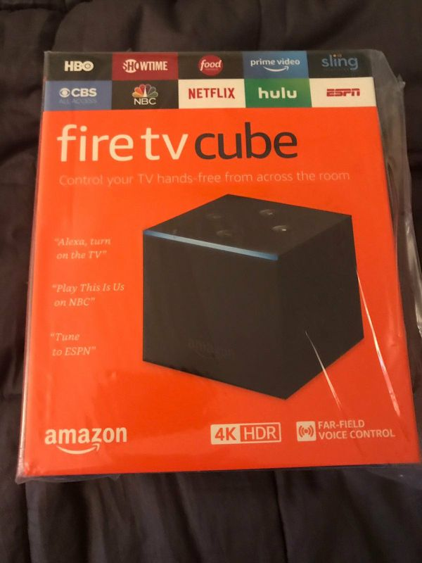 All-New FIRE TV CUBE fully loaded