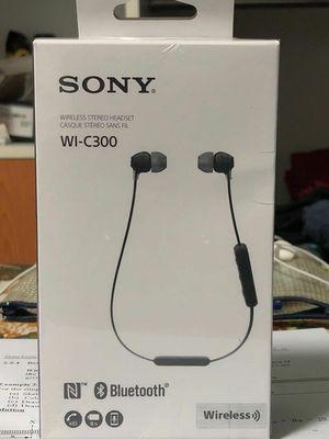 Sony WI-C300 Bluetooth Wireless In-Ear Earphones with Mic for Sale in Murphy, TX