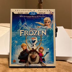 Disney Frozen DVD Collectors edition for Sale in Columbine Valley,  CO