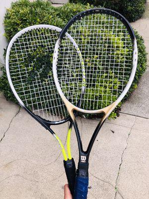 Two tennis rackets (Wilson & Macgregor) for Sale in San Francisco, CA