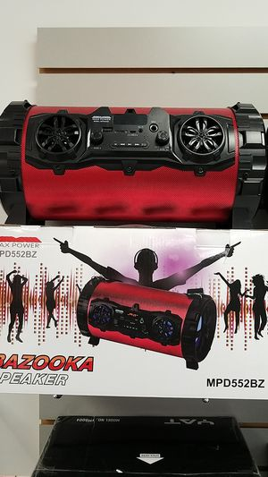 BAZOOKA SPEAKER (wireless bluetooth/ Digital Display) for Sale in Dallas, TX