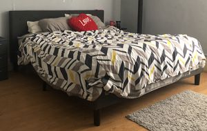 King size bed frame for Sale in Meredith, NY