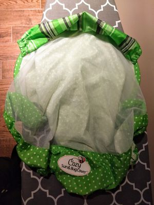Infant car seat sun and bug cover for Sale in Fayetteville, NC