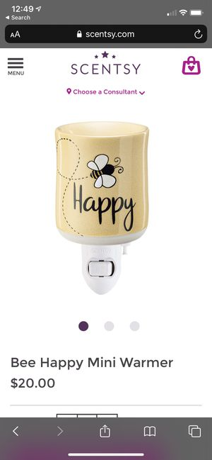 Bee Happy Scentsy Warmer for Sale in Rancho Cucamonga, CA