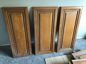 Kitchen cabinet doors and faces for Sale in Rancho Cucamonga, CA
