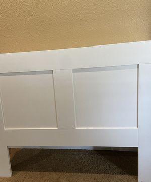 FREE - Full Size headboard w adjustable shelves for Sale in Hayward, CA