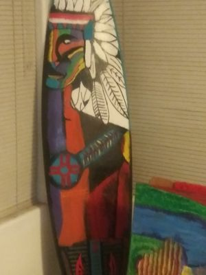 Authentic Native American Surfboard for Sale in Las Vegas, NV