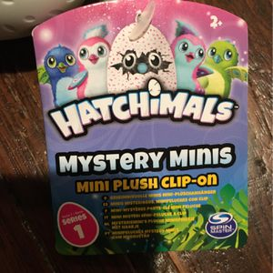 Keychain stuffed animal, Hatchimal! for Sale in Seattle, WA