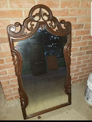 Antique real wood mirror for Sale in Mechanicsville, VA