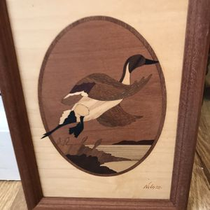 Picture Hudson River Duck Wood Inlay for Sale in Palm Beach Gardens, FL
