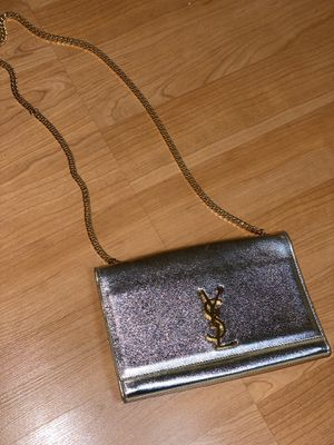 YSL Saint Laurent bag silver color for Sale in Brisbane, CA