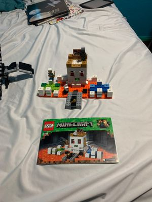 2 LEGO Minecraft sets for Sale in Vacaville, CA