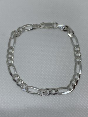 Sterling silver bracelet unisex, 7 inches for Sale in Whittier, CA