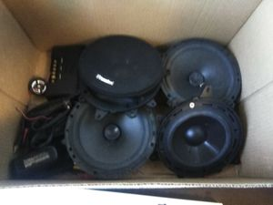 Car speaker car audio for Sale in Palm Bay, FL