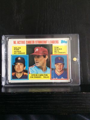 Nolan Ryan. Tom Seaver. Steve Carlton. Baseball Card and Vintage. Perfect condition. Lou Gehrig Mickey Mantle with United States postal stamp framed for Sale in Venice, FL