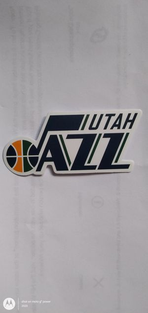 NBA UTAH JAZZ BASKETBALL TEAM LOGO DECAL STICKER for Sale in Montclair, CA