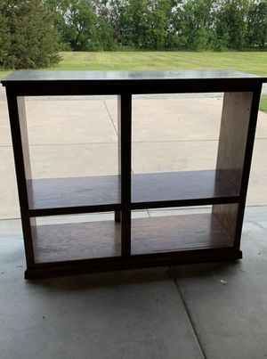 Entertainment Center 4 ft tall - 58 in. Wide and 19 in deep. for Sale in Derby, KS