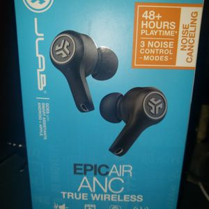 Epic Air Anc True Wireless Earbuds ! for Sale in Manor, TX