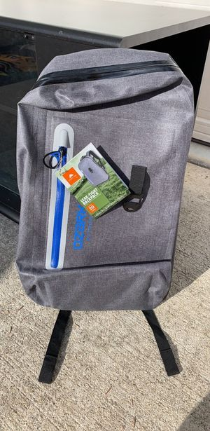 Ozark Trail leak-tight waterproof backpack for Sale in Manhattan, IL