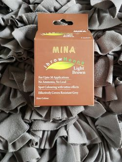 MINA Professional Eyebrow Henna In Light Brown for Sale in La Grange Park,  IL