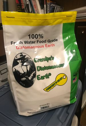 Food Grade Diatomaceous Earth (10 lb) for Sale in Virginia Beach, VA