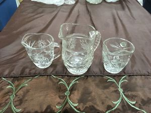 Press glass pitchers for Sale in Lakeside, AZ