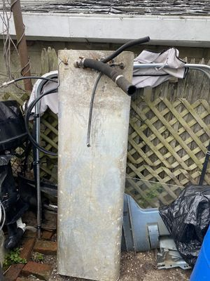 Aluminum 20 Galon Gas ⛽️ Tank for boats for Sale in Pawtucket, RI
