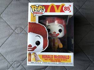 Funko Pop AD Icons McDonalds Ronald Mcdonald Vinyl Figure Collectible Toy for Sale in Los Banos, CA