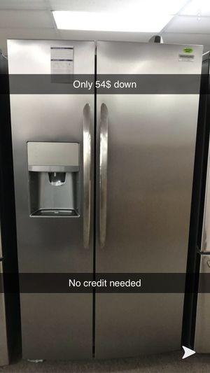 Brand new side by side refrigerator for Sale in Bellaire, TX