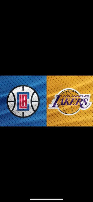 Clippers vs lakers 10/22 7:30pm for Sale in Ontario, CA