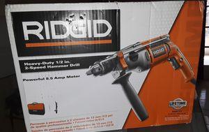 RIDGID 8.5 Amp Corded 1/2 in. Heavy-Duty Hammer Drill for Sale in Miami, FL