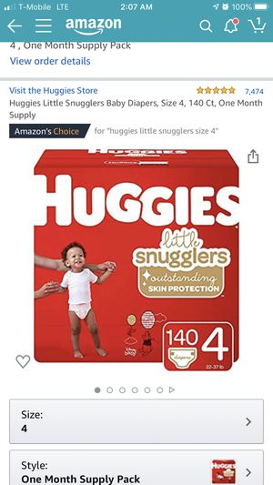 Diapers size 4 for Sale in Porterville, CA
