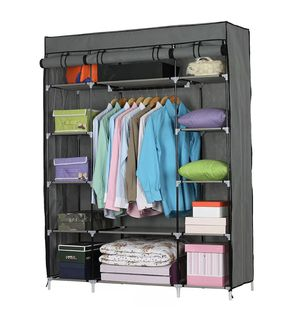 👔 BRAND NEW Heavy Duty Portable Closet Storage Organizer Clothes Shelf Wardrobe Rack Shelves for Sale in Los Angeles, CA